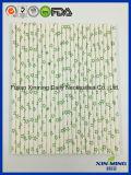 Paille de papier de profil sous convention astérisque de vert d'approvisionnement d'usager