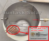 Calentador solar de agua de alta eficiencia para uso familiar