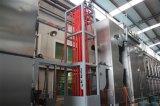 Anhebende gewebte Materialien kontinuierliche Dyeing&Finishing Hochtemperaturmaschine
