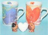 中国の陶磁器のコーヒー・マグ、陶磁器のコーヒーカップ、デザインコーヒー・マグ
