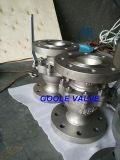 l'acciaio inossidabile 2PC ha flangiato valvola a sfera di galleggiamento (Q41F)