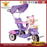 Conduite modèle de bébé de différence sur le véhicule 3wheels avec des tricycles d'enfants de pédale et de parapluie