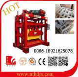 Machine de bloc de cavité de machine de bloc concret du quart 4-40