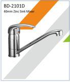 Robinet à levier unique de bassin de corps de zinc de Bd2101A 40mm