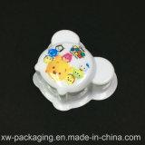 動物によって印刷される豪華なPVCプラスチック固体まめの皿
