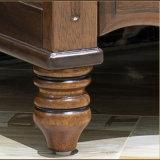 家庭内オフィスの家具(AS815)のための米国式の木のNightstand