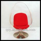 공상 고전적인 명확한 아크릴 거는 거품 의자