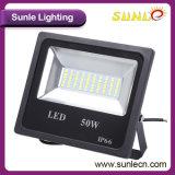Черное заливающее освещение Stent напольное SMD 50W СИД (SLFA85)