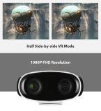 Câmera do esporte de Vr dos vidros da realidade virtual 3D mini com controle móvel do APP