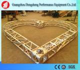 Braguero cuadrado de aluminio de la etapa de iluminación del tornillo del braguero de la dimensión de una variable del corazón