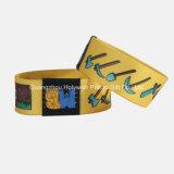 Wristbands elásticos atléticos do logotipo feito sob encomenda especial do projeto