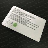 Perfektes Drucken Kundenspezifische transparente PVC IC freie Plastikkarte