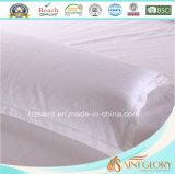 Precio barato blanco jacquard almohada cubierta de almohada de algodón puro protector