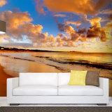 新しい流行の最もよい販売の現代居間のビニールは印刷の壁紙を張る