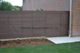 固体タケプラスチック合成物88の灰色のすべり止めの塀