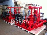 Wasserversorgung-Feuerbekämpfung mit Diesel- und elektrischer und Jockey-Pumpe