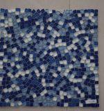 2017新しいデザイン分割された共同海の青いガラス自然なモザイク・タイル