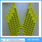 Color amarillo. 27 carga plástica de la potencia de la tira de la carga del calibre del calibre S1jl