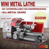 Mini torno de giro motorizado universal do metal de madeira metalúrgico da ferramenta da máquina DIY