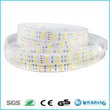 Hoogtepunt 5m Dubbele Rij 5050 het Licht van de Strook van SMD 600 RGB Witte Flex leiden RGBW Rgbww