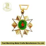 Medalla de encargo del metal del acollador de la concesión de la alta calidad para el deporte