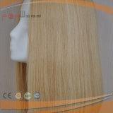Qualitäts-blondes Menschenhaar-Silk Spitzenperücke