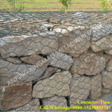 80X100mm, 2mx1mx1m Galvanized Gabion Basket / Gabion Stone Basket (XM-VB)
