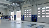 中国製頭上に研修会の電源制御装置のオーバーヘッドドア(HzSD013)の上で持ち上がる競争価格の部門別のドア