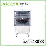 Conception portable à refroidissement d'air évaporatif avec 3 coussinets