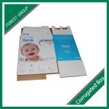 Nuevo rectángulo de moda del bebé del papel acanalado