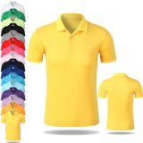 Guangzhou Factory Custom Made Cotton Pique Men Polo