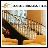 Railing лестницы акриловой лестницы пластичный для штендеров Acrylic дома украшения