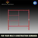 Q235 échafaudage 1219 de bâti de l'acier H pour la construction