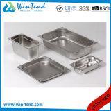 Hete Keuken 1/3 van het Restaurant van het Roestvrij staal van de Verkoop Elektrolytische de Container van de Keuken van de Grootte