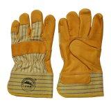 Перчатки верхней руки перчаток Gardon Cowhide зерна защитные управляя