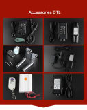 12V / 24V actuador lineal IP65 con Handcontroller y Power Pass CE