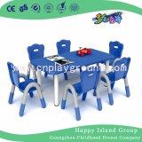 질 교실 가구 아이 가구 아이 플라스틱 테이블 의자는 놓았다 (HF-2003)