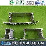 Il profilo di alluminio del portello della finestra dell'alluminio 6063 della Nigeria Africa per personalizza il colore