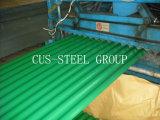 La hoja de acero del material para techos de PPGI/PPGL/prepintó el azulejo de azotea galvanizado del metal