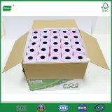 Rodillo del papel sin carbono de 3 capas para la caja registradora electrónica de la matriz de PUNTO