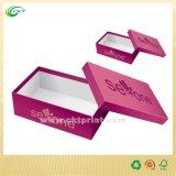 Il cartone calza il contenitore di coperchio con progetta (CKT-CB-431)