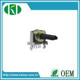 12mm potentiomètre rotatoire de 6 bornes avec la bride Wh0122-2