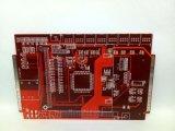 Tarjeta de circuitos impresos de múltiples capas de la electrónica del PWB del control de 4 impedancias para el amplificador del coche