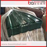 Hojas acanaladas del material para techos del cinc de China de la alta cantidad