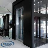 Projeto de vidro Home pequeno panorâmico elevador de construção reparado da casa