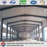 Entrepôt préfabriqué/construction de bâti en acier avec l'isolation ignifuge
