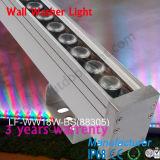 Lampe imperméable à l'eau de la lumière DEL de rondelle de mur de lumière d'inondation de DC24V DEL