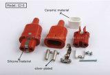 De Rubber Elektrische Stop Op hoge temperatuur van het silicone