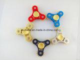 Juguetes coloridos del hilandero de la mano del metal de la fábrica de Shenzhen