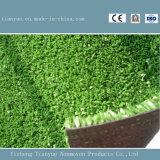 スポーツ界デザインサッカー場の人工的な草